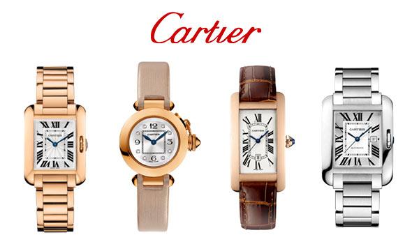 カルティエ腕時計女性