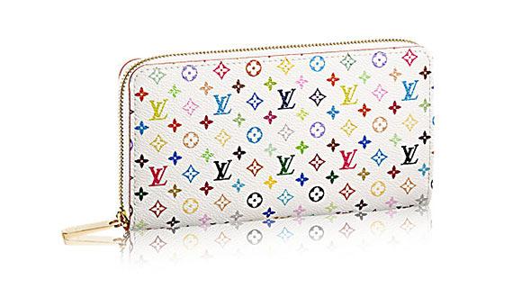 マルチカラー財布