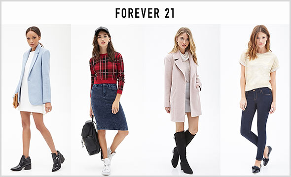 FOREVER21-コーデ