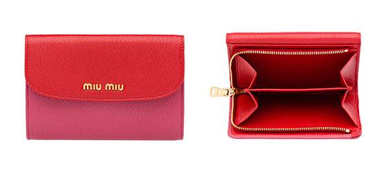 ミュウミュウ小さい財布2