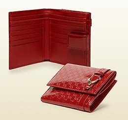 グッチ二つ折り財布1