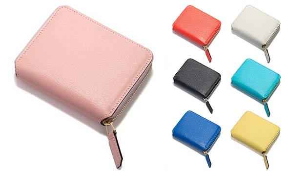 71057b81168f これ欲しい♪ 19. ジップ開閉タイプのかわいいミニ財布。