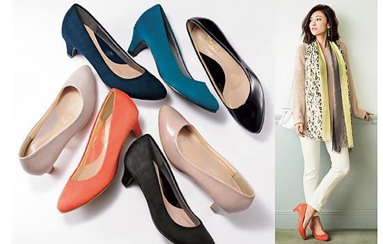 セシール靴1