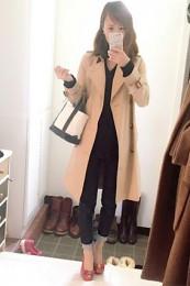 フェラガモ靴コーデ3