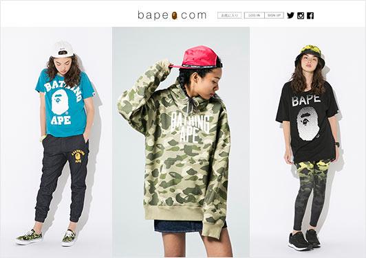 ボーイッシュ好きなら誰もが知っている、ストリートの代表ブランド。ラフなTシャツ、スウェット1枚でもコーデが決まるのは、インパクトのあるロゴ&柄のなせるワザ