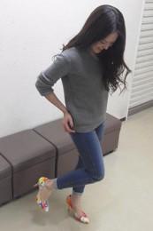 プールサイド靴コーデ2