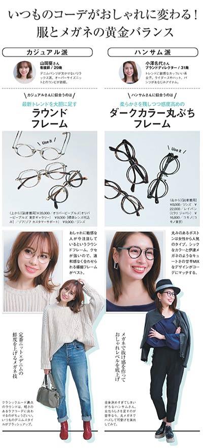 メガネとファッション