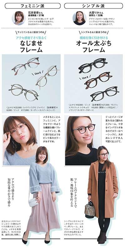 メガネとファッション2
