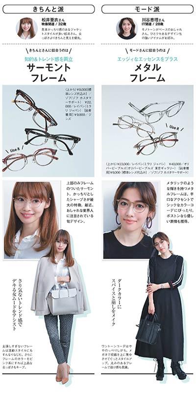 メガネとファッション3