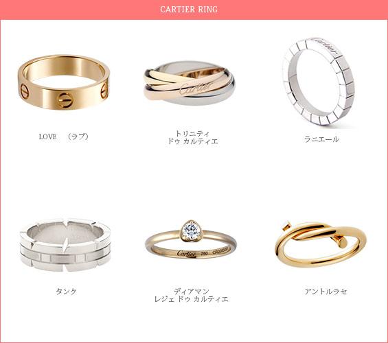 カルティエ-指輪