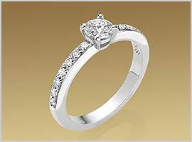 グリフ婚約指輪