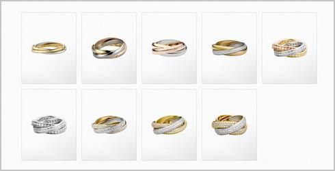 トリニティ-結婚指輪