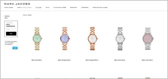 マークジェイコブス-レディース腕時計
