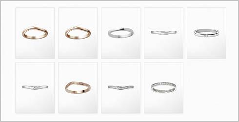 バレリーナ-結婚指輪