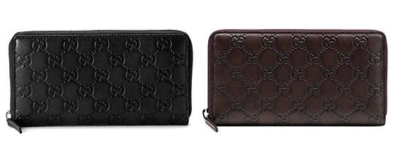 グッチシマレザー財布