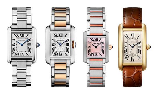 カルティエ腕時計タンク