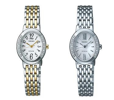 セイコー-エクセリーヌ腕時計1