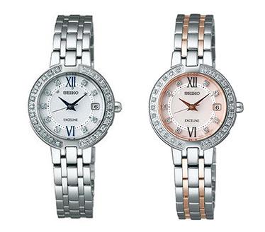 セイコー-エクセリーヌ腕時計3