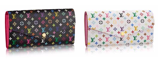 ルイヴィトンマルチカラー財布