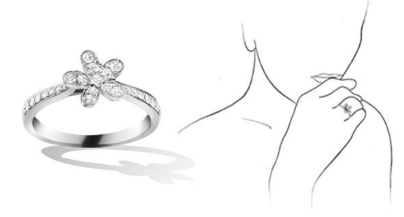 ヴァンクリーフ指輪2