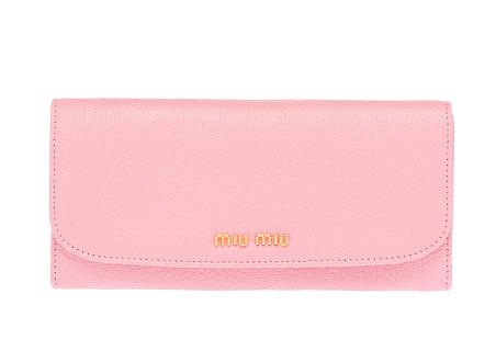 ミュウミュウ財布可愛い