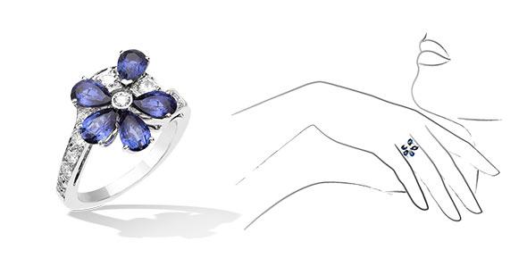 ヴァンクリーフ&アーペル指輪4