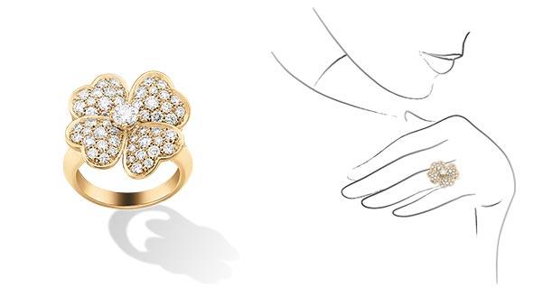 ヴァンクリーフ指輪3
