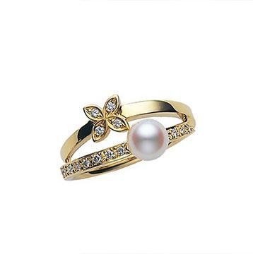 ミキモトパール指輪2
