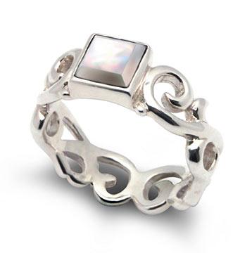 ブルームパール指輪1