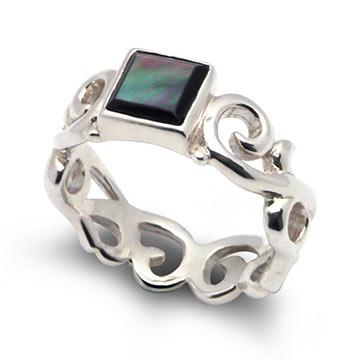 ブルームパール指輪2