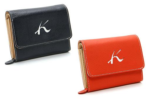 キタムラ二つ折り財布