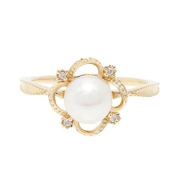 アガットパール指輪1