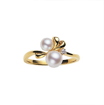 ミキモトパール指輪1