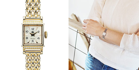 ロゼモン華奢腕時計3