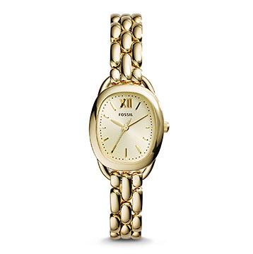 フォッシル華奢腕時計