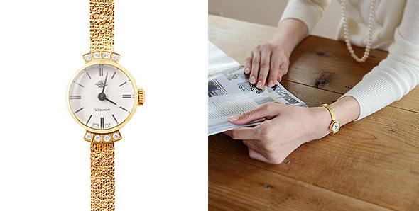 ロゼモン華奢腕時計2
