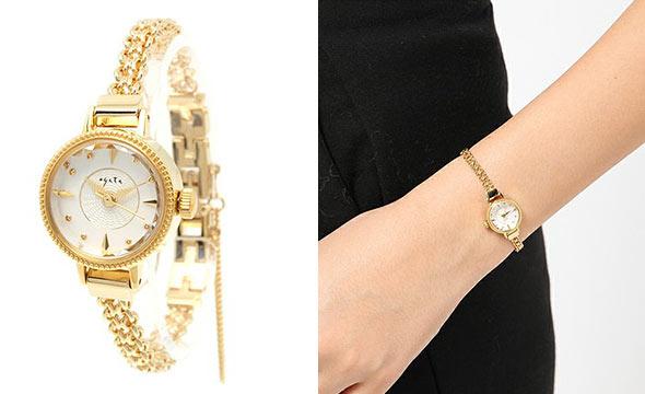 アガット華奢腕時計2