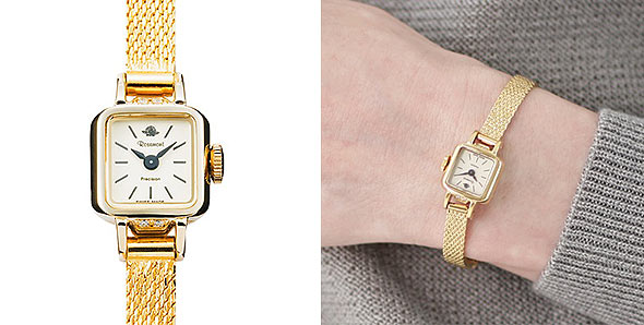 ロゼモン華奢腕時計1