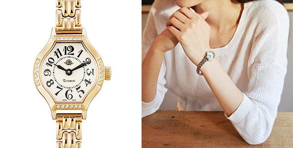 ロゼモン華奢腕時計4