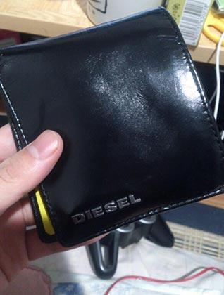 ディーゼル財布1