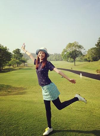 48aaec3b67055 おしゃれに楽しく!春夏にピッタリなゴルフポロシャツコーデ | レディースMe