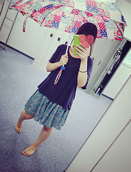 日傘コーデ8