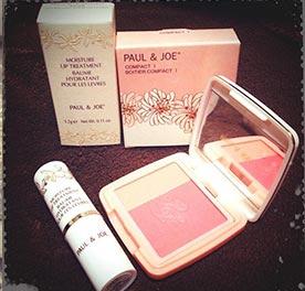 ポール&ジョー化粧品プレゼント2
