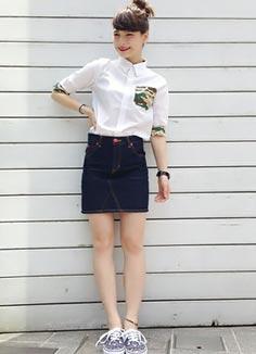 x-girlスカート1