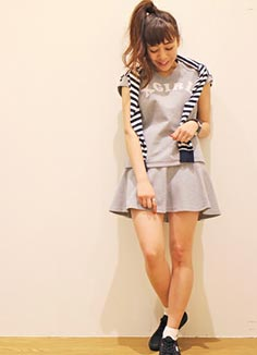 x-girlスカート2