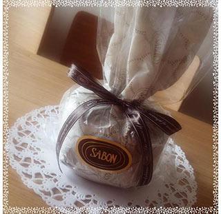 サボンアロマキャンドルプレゼント1
