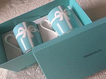 ティファニーマグカッププレゼント2