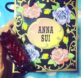 アナスイ口紅プレゼント1