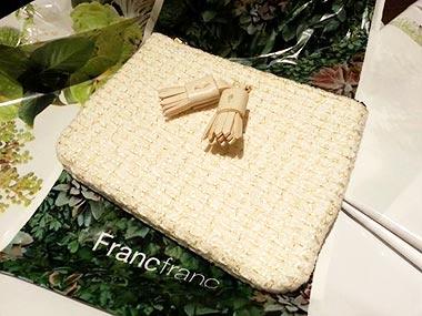 フランフランのティッシュケースプレゼント