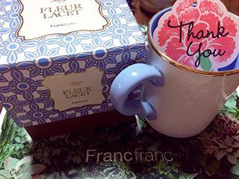 フランフランマグカッププレゼント5